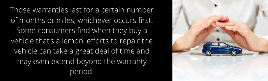 Warranty Period For A Lemon Car