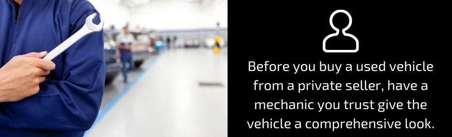Vehicle Buyers Protection